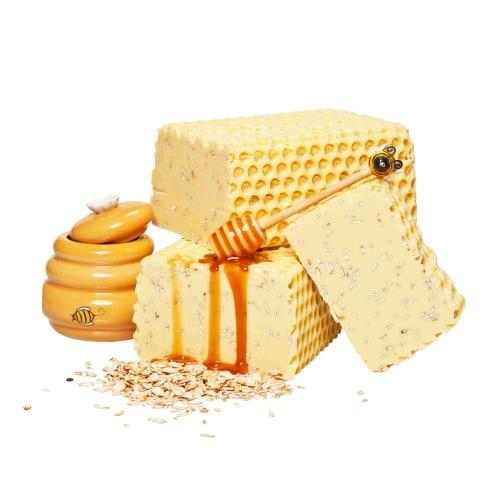 Cremige Honigmilch Seife