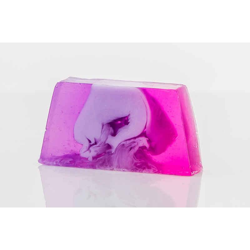 Blumiger Lavendel Seife