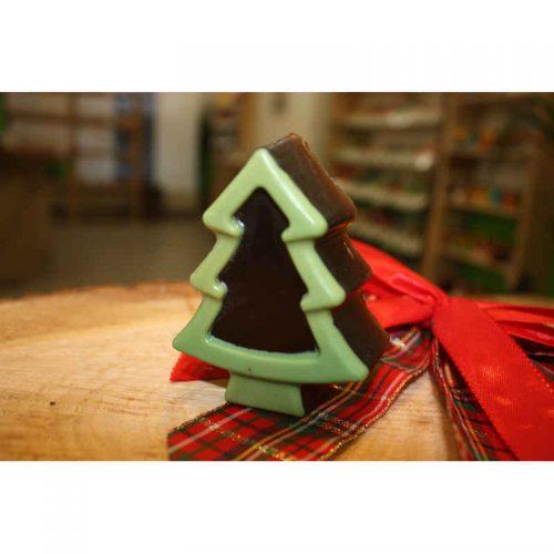 Weihnachtsbaum Seife Schoko-Minze