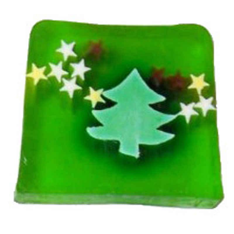 Motivseife Weihnachtsbaum & Sterne