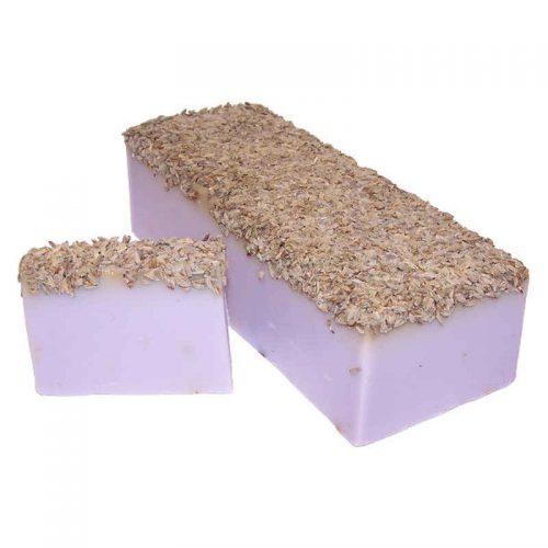 Lavendel mit Lavendelsamen Seife 100g