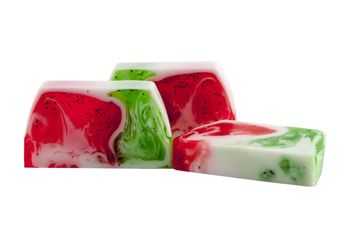 Cremige Kiwi-Erdbeer Seife