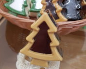 Weihnachtsbaum Seife Schokolade
