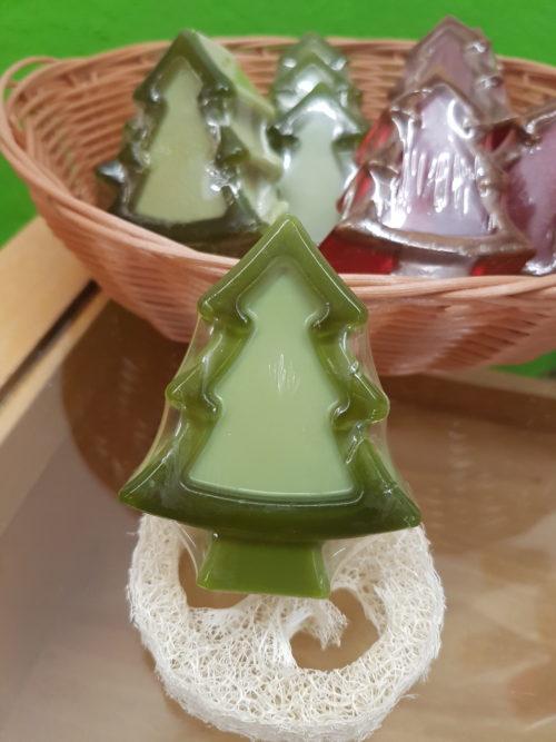 Weihnachtsbaum Seife Patchouli Lavendel