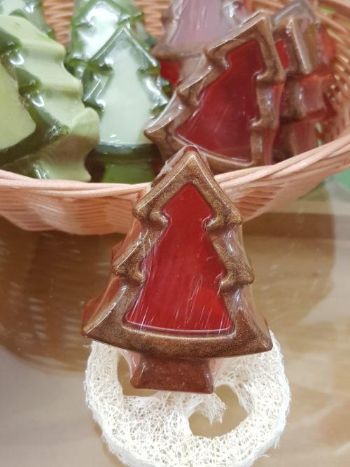 Weihnachtsbaum Seife Kokos/Zimt